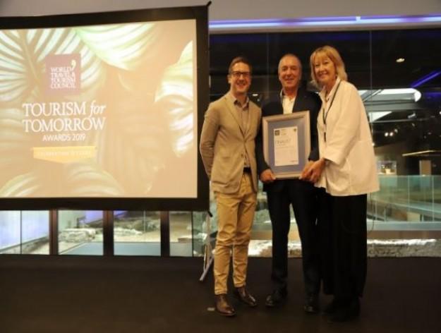 Climate Action Award van de World Travel en Tourism Council