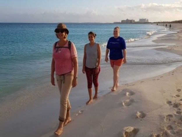NEW to the Wellness Program Sunrise Mindfulness Walk on the Beach