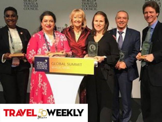 Travel Weekly Hails WTTC Award Winners