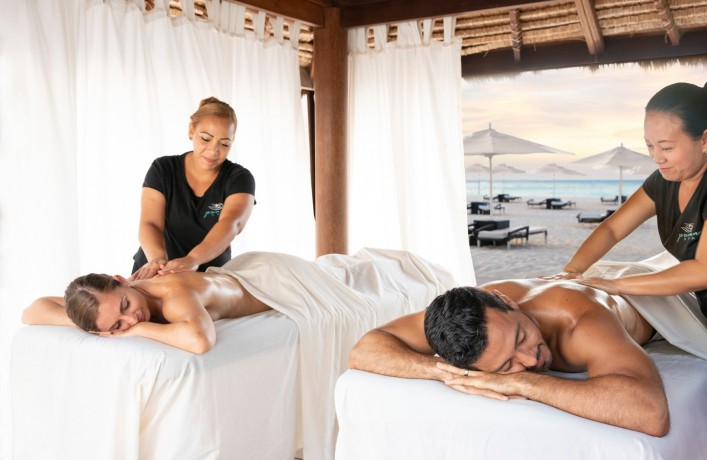 Spa Cabana Couples Massage