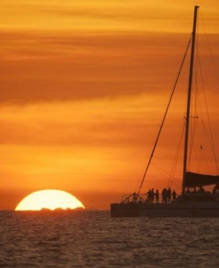 Sunset Catamaran Sail