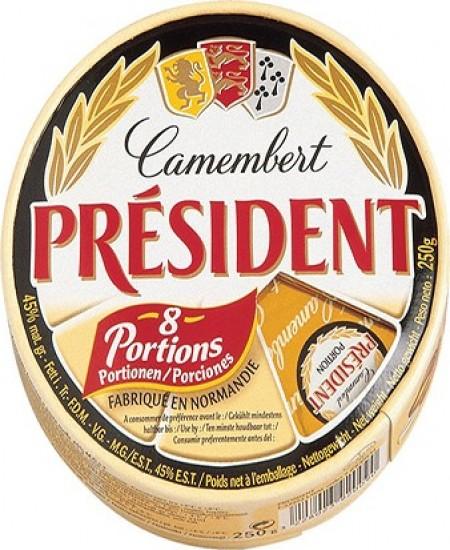 Camembert President Port