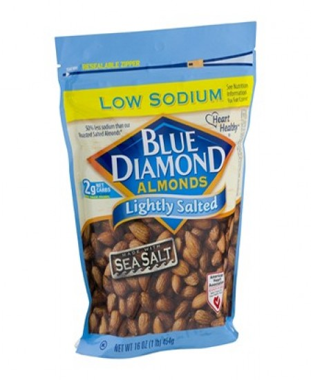 Blue Diamond Almonds Lightly Salted