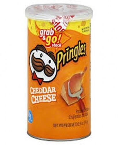 Pringles Cheddar Cheese Potato Chips