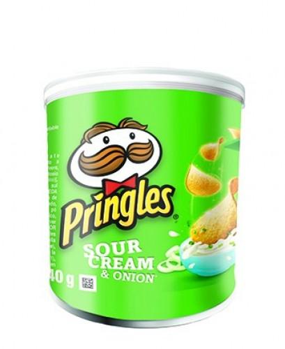 Pringles Sour Cream Potato Chips