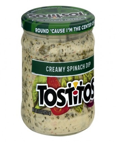 Spinach Dip for Chips Tostitos