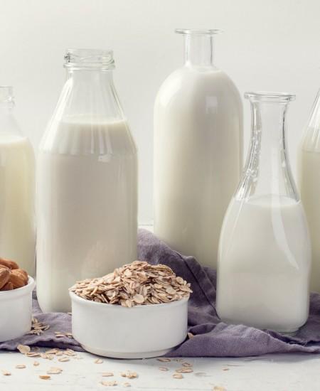 Milk, Cow & Nut