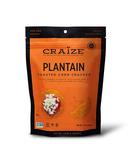 Craize Corn Cracker - Plantain (1.75oz)