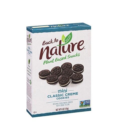 Back to Nature Mini Classic Crème Cookies 6oz