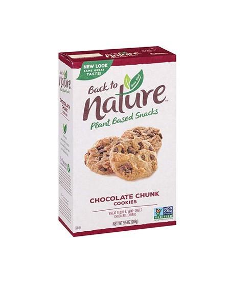 Back to Nature Choc chunk cookie 9.5oz