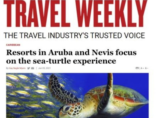 Travel Weekly - Resorts in Aruba and Nevis focus on sea-turtle experience