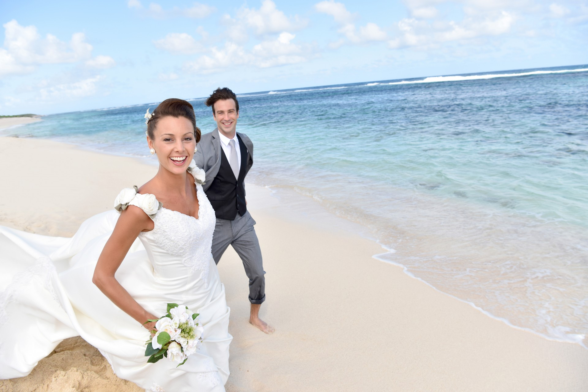 New! Intimate weddings live streamed to family and friends back home